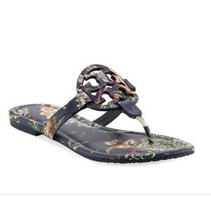 27f637dbf Tory Burch · Tory Burch Happy Times Print Miller Sandals